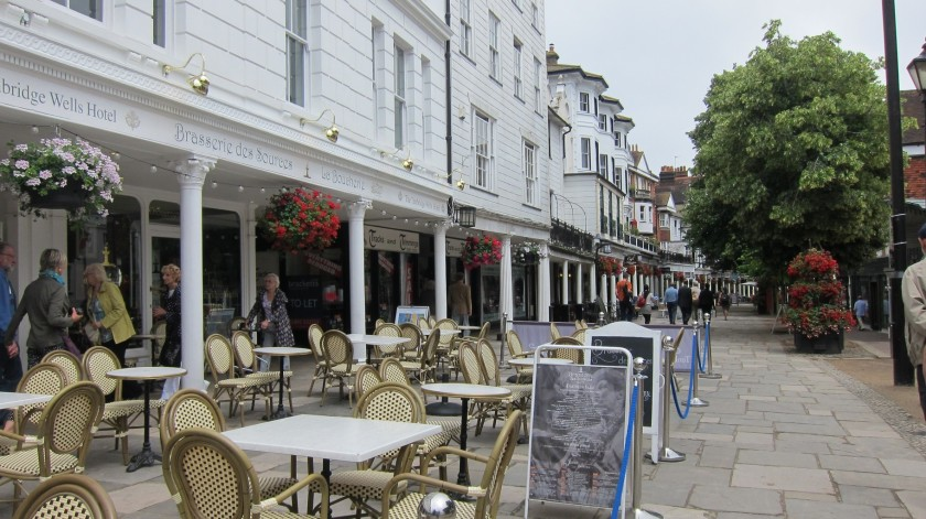 The Pantiles, Royal Tunbridge Wells, Kent