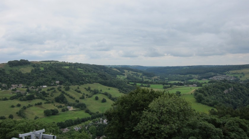 View from Matlock, Derbyshire