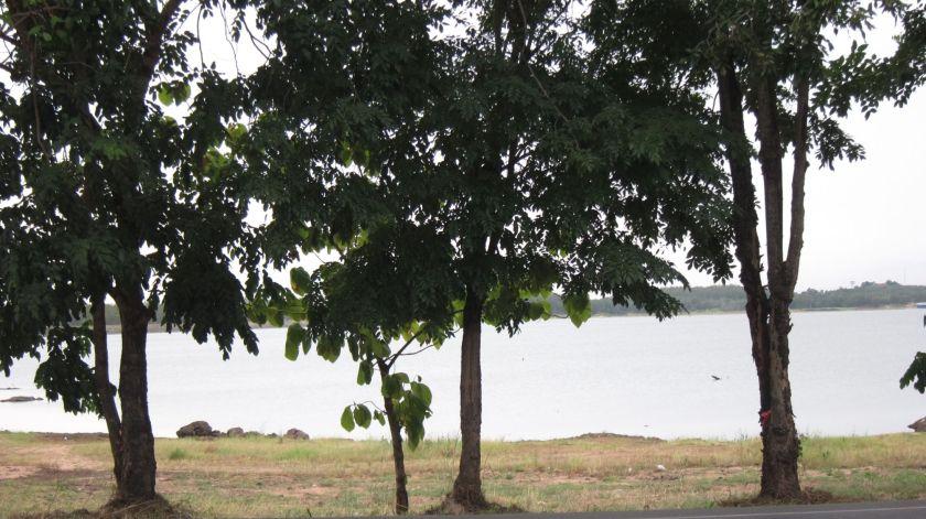 Lake Mabprachan from Mobi's