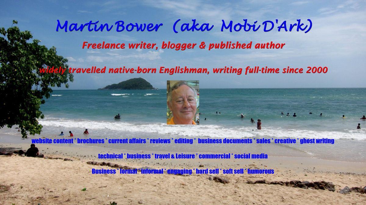 Martin Bower aka Mobi D'Ark ..................Portfolio