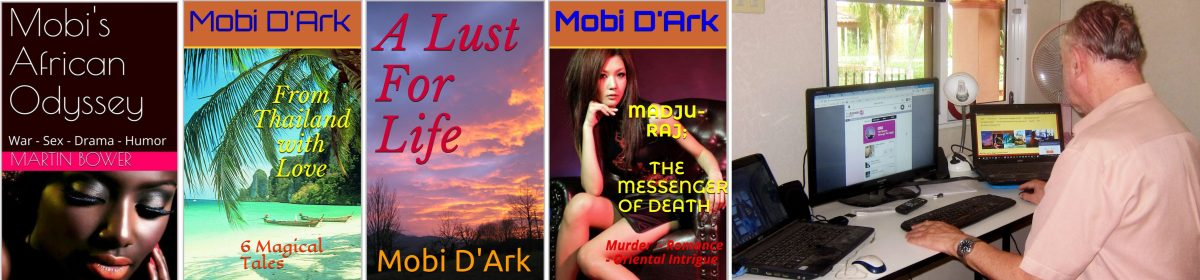 Mobi D'Ark: Author, Blogger & Freelance Writer